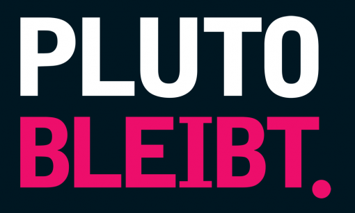 Pluto Bleibt campaign