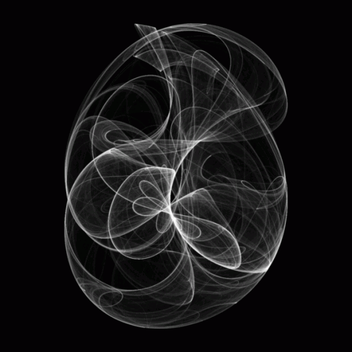 Clifford Attractor by sneeu@FlickR