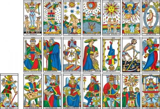 Camoin Tarot deck