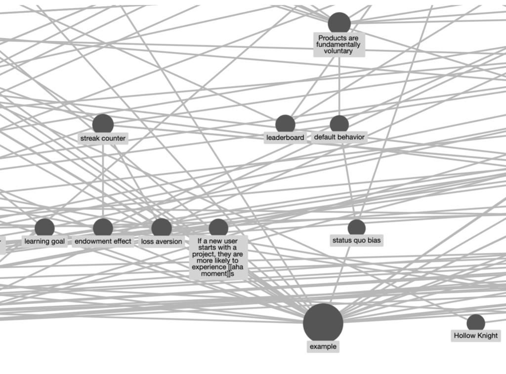 Roam Research does not offer the best graph viewing experience